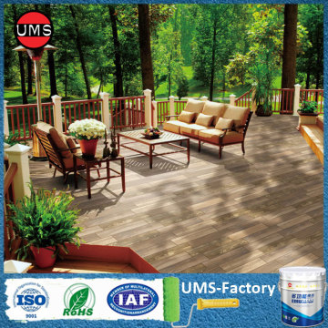 Custom wood tiles exterior for patio floor