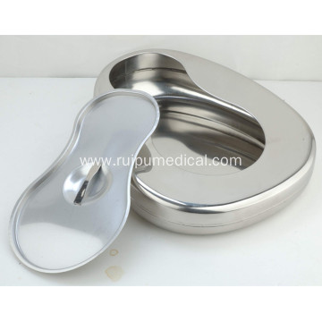 Hospital Stainless Steel Western Type Bedpan