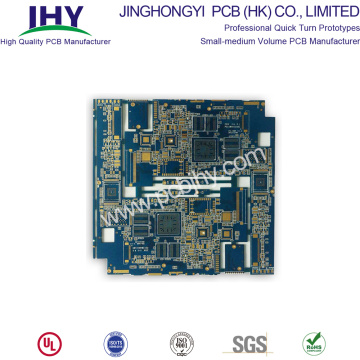 Fast PCB Prototype 8 Layer Fabrication and Assembly