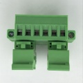10A pluggable 35mm Din rail terminal block