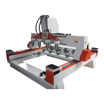 4 axis CNC rotary Wood Carving Machine