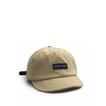Short brim soft top baseball cap cap cap