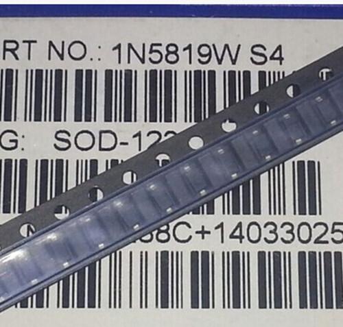100PCS 1206 S4 1N5819W 1N5819 SOD-123 Diode