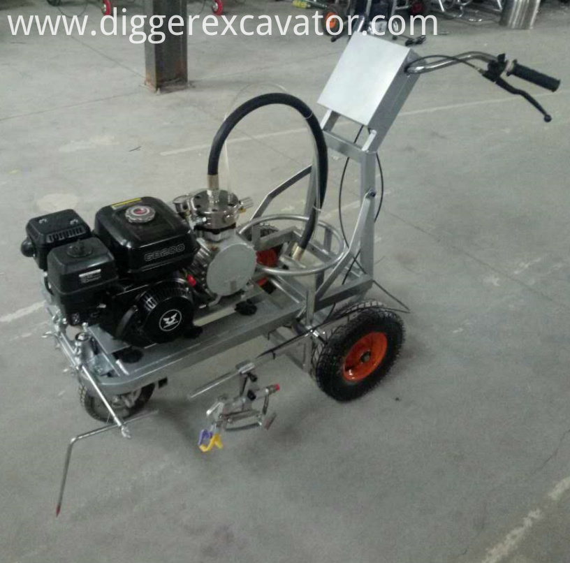 Road line marking machine