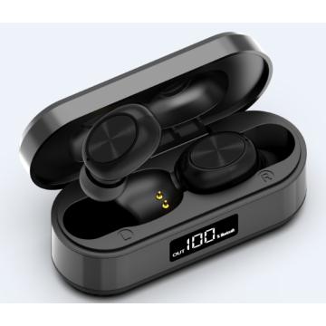 Aluminum digital display wireless Bluetooth headset