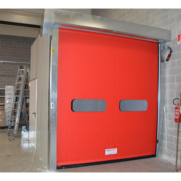 Automatic Roll Up PVC Fabric Rapid Door