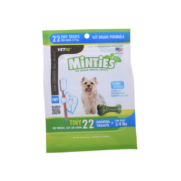 Plastic packaging bags for pet food