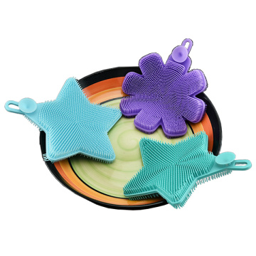 Star Shape Silicone Dish Sponges