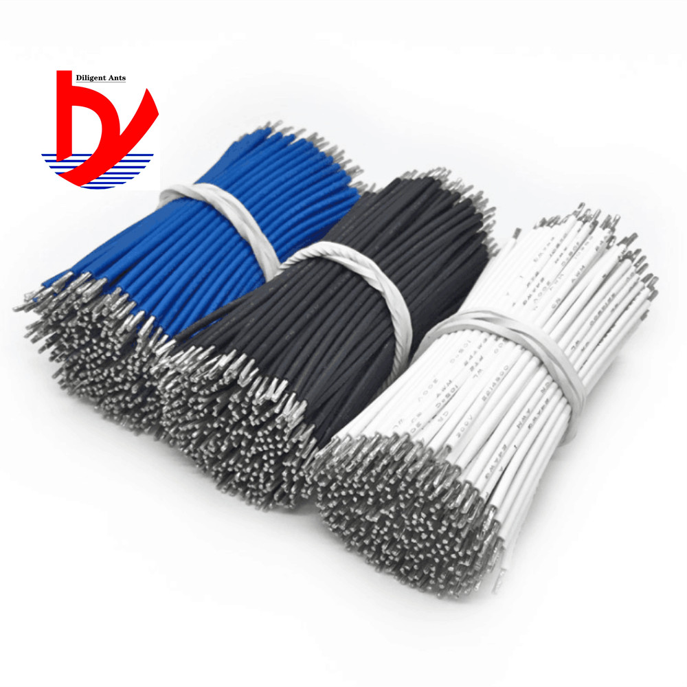 UL3239 silicone wire 20AWG connection LED tinned circuit board PCB jumper wire and cable tin wire