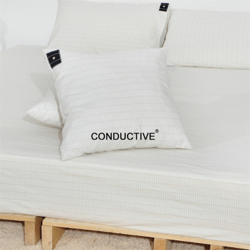 Silver fibre Cotton Earthing Grounding pillow case