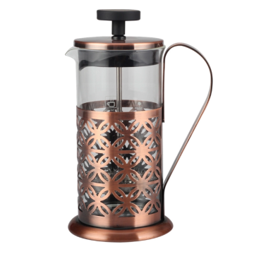 French Press with Stainless Steel Frame