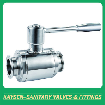 3A/DIN Sanitary clamp manual direct-way ball valves
