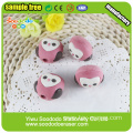 Pencil Topper Erasers Owl Shaped Eraser Cap