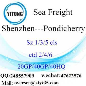 Shenzhen Port Sea Freight Shipping To Pondicherry