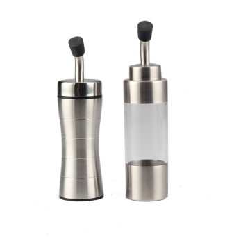 Wholesale Stainless Steel and Glass Oil Kettle Set