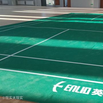 World standard sports court Olympic games badminton floor