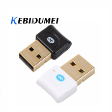 kebidumei Bluetooth V4.0 Dual Mode Wireless USB Dongle Adapter Gold plated connector CSR 4.0 Adapter Audio Transmitter For PC