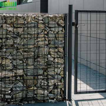 High quality Galvanized  welded gabion stone baskets