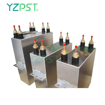 Professional Middle frequency Water cooled DC filter Capacitor 300uf