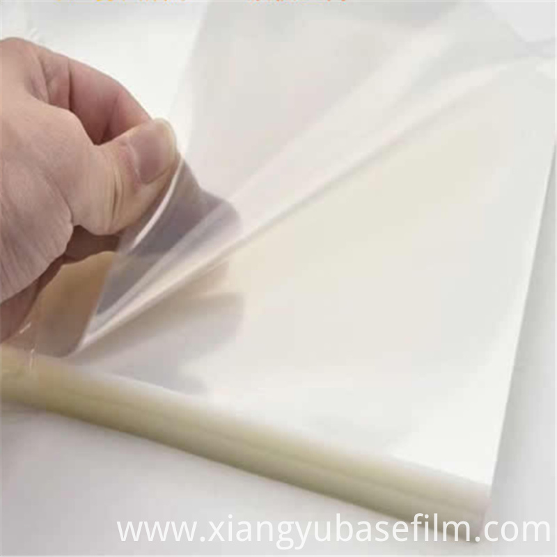 PET Releasing Protection Liners Base film 4