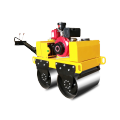 New design Walking behind double steel wheel road roller