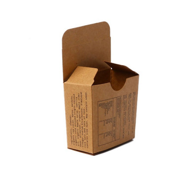 Custom Kraft Paper Foldable Soap Paper Box