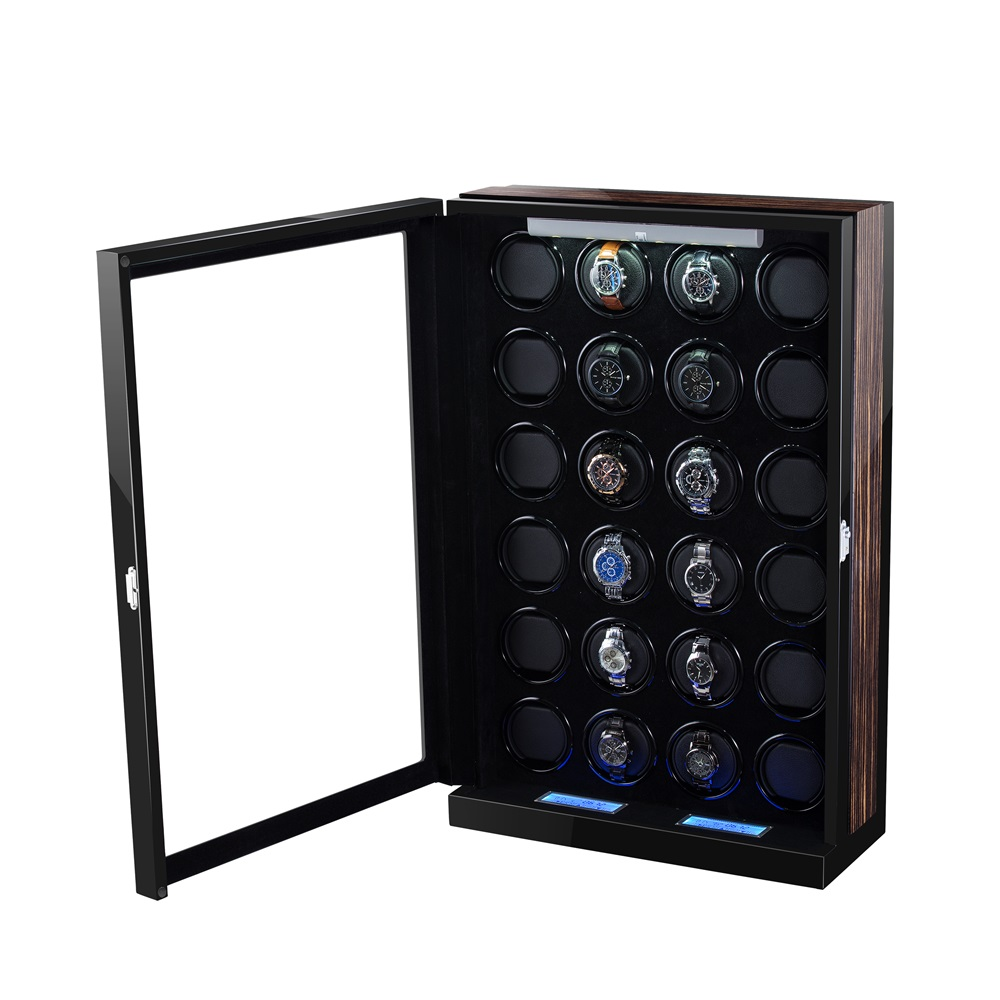 Black Gloss PU finish Rotations Watch Winder