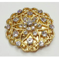 Round Shapes Rhinestone Shoe Clips