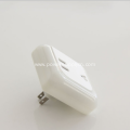5V 3.1A USB Charger with LED Night Lamp