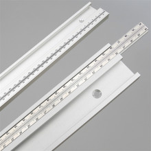 300-800mm Aluminum Alloy T Track Slot with Scale Movable scale T-tracks DIY Router Table Saw Woodworking Tools 45 Type