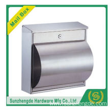 SMB-011SS Hot Selling Oem Mailbox Aluminium Cast Iron Diy Mailboxes