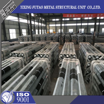 11M Galvanized Steel poles