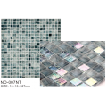 Silver Glowing rainbow Ice Series Mosaic Tiles