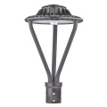 75W Bronze Led Post Top Landscape Lighting Fixtures