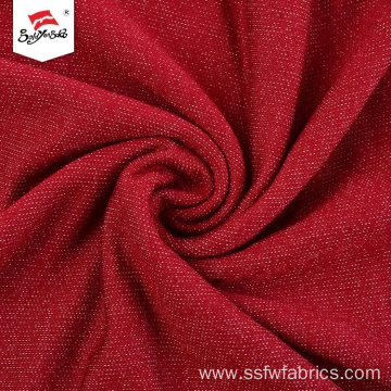 Polyester Rayon Spandex Terry AW Soft Handfeel