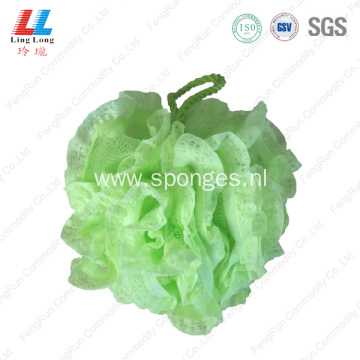 Favor foam soft mesh lace sponge ball