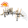 Multiplay Outdoor Equipment Climb Net Playground For Sale