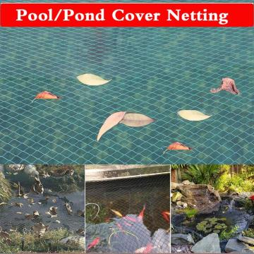 Pond Protection Netting,Koi Pond Cover Net Pool Leaf Netting Protects Koi Fish from Blue Heron Birds Cats Dog Predators