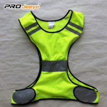 120gsm 100% Polyester Mesh reflective running vest