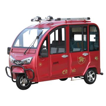 Full-enclosed Electric Auto Rickshaw For 4 Passengers
