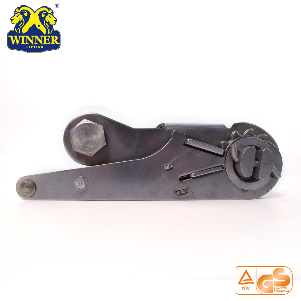 "3"" Short Handle Ratchet Steel Buckle For Webbing"