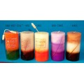 Wholesale cylinder type craft candle