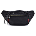 Trendy Black Ourdoor Travel  Small Waist Bag