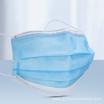 Three-layer Disposable medical face mask