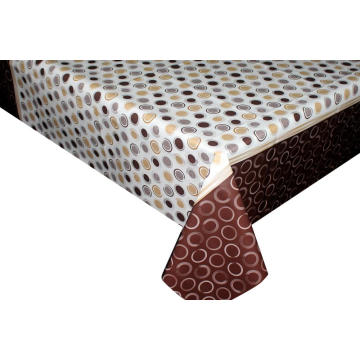 Elegant Tablecloth with Non woven backing Measurements
