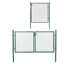 welded wire mesh euro yard metal fence gate