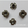 Stainless steel 4 Prongs Locking Nuts
