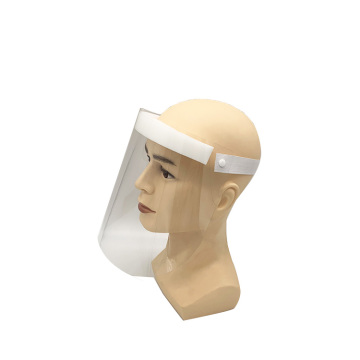 Clear reusable protection safety face shields