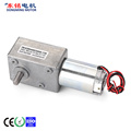 worm drive gearbox with motor