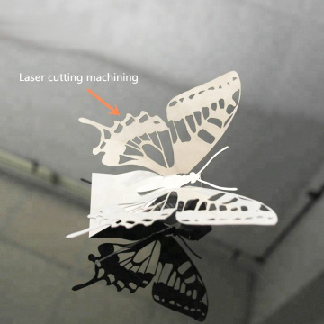 Laser cutting Stainless Steel model Butterfly model part